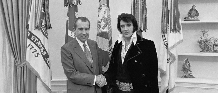 'Elvis and Nixon': dos bestias sueltas