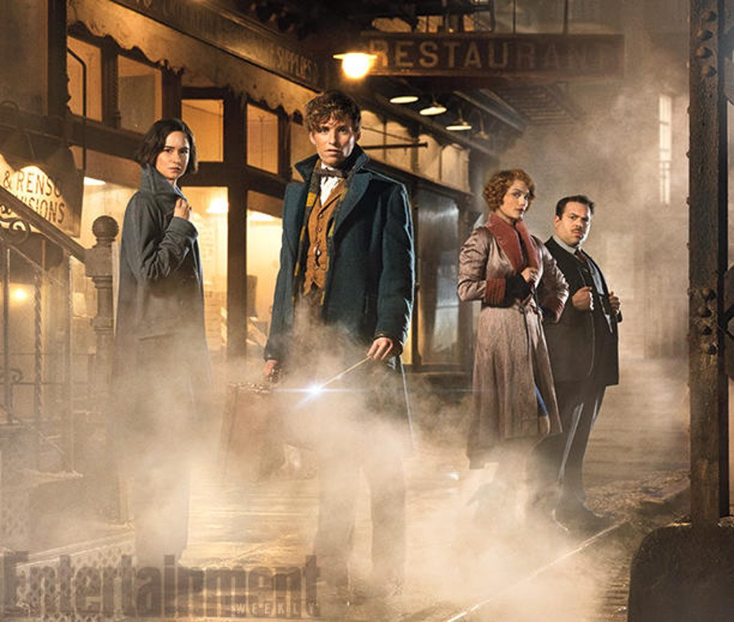 Los protagonistas del spin-off de 'Harry Potter'