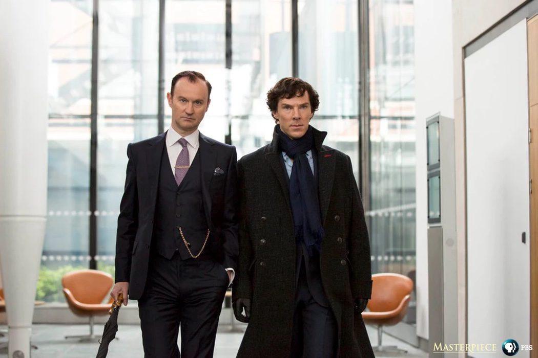 Mycroft y Sherlock Holmes