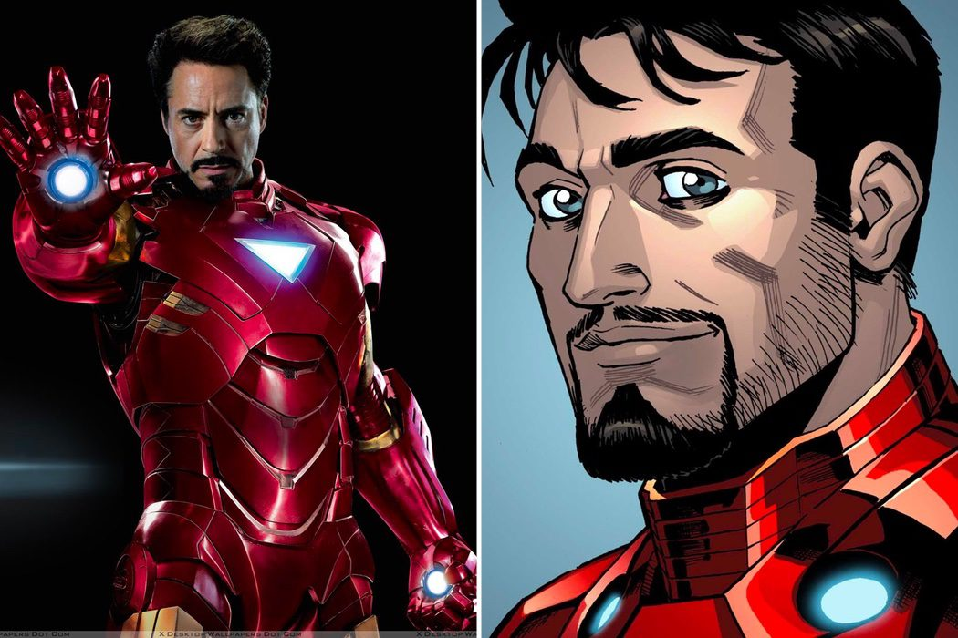 SÍ - Iron Man / Tony Stark (Robert Downey Jr.)