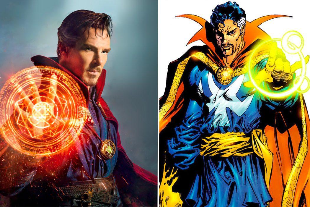 SÍ - Doctor Extraño (Benedict Cumberbatch)