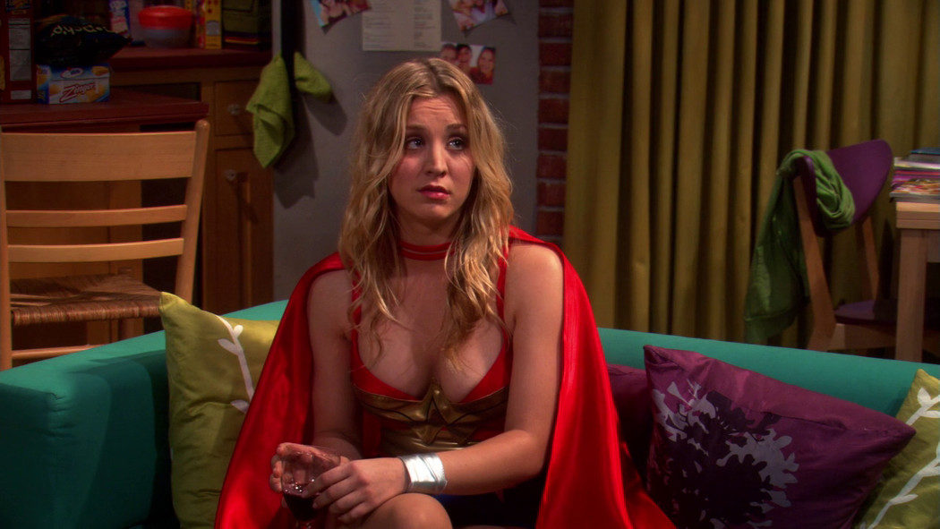 Penny, de 'The Big Bang Theory'