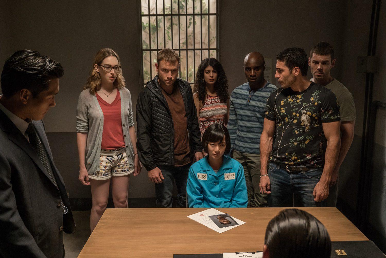 Los sensates juntos en esta nueva imagen de la segunda temporada