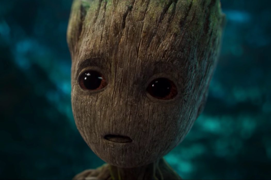 El adorable Bebé Groot