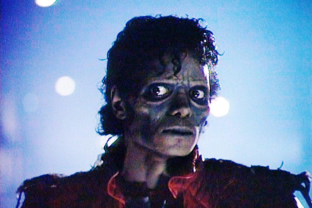 Jackson en su faceta zombie