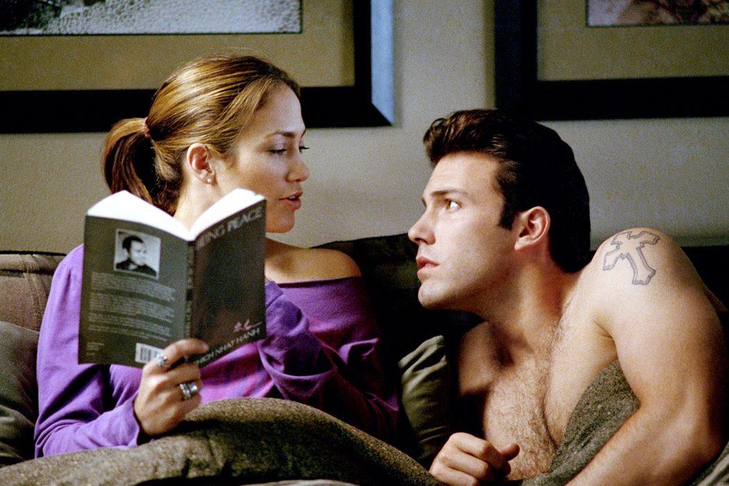 Jennifer López  y Ben Affleck en 'Una relación peligrosa'