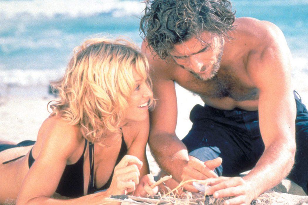 Madonna y Adriano Giannini en 'Barridos por la marea'