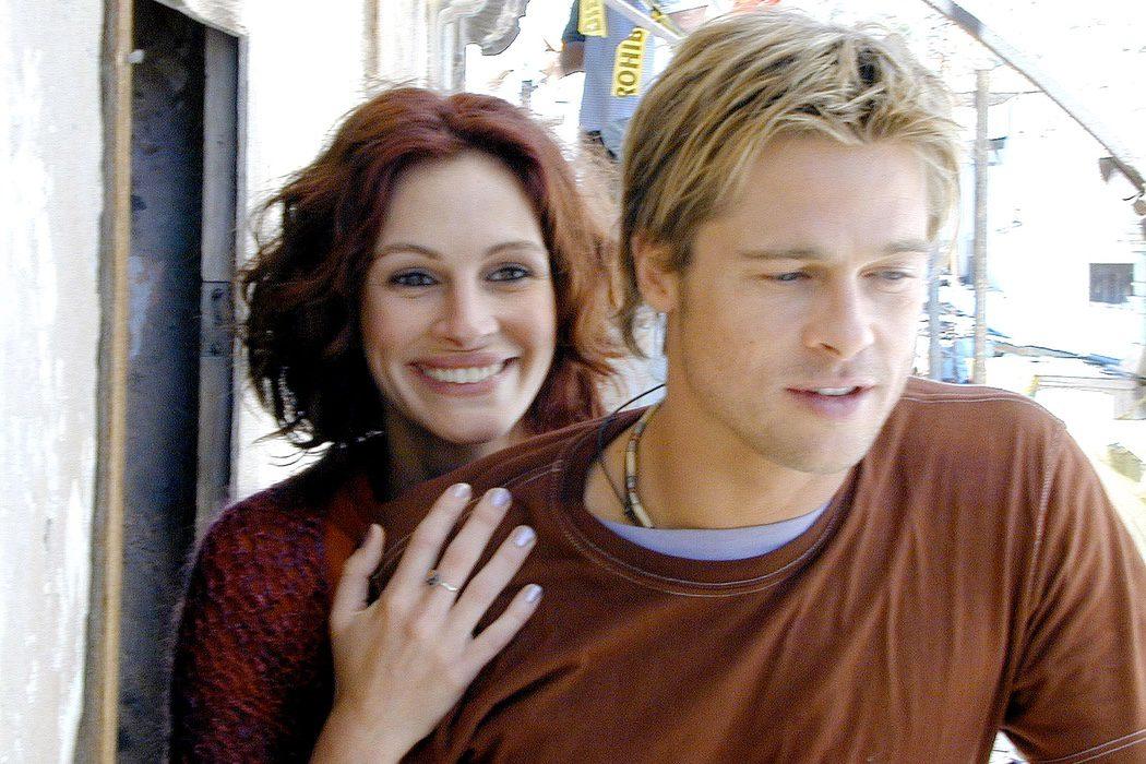 Brad Pitt y Julia Roberts en 'The Mexican'