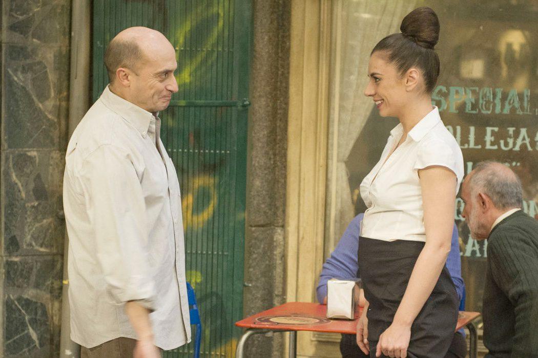 Miren Ibarguren y Pepe Viyuela en 'Aída'