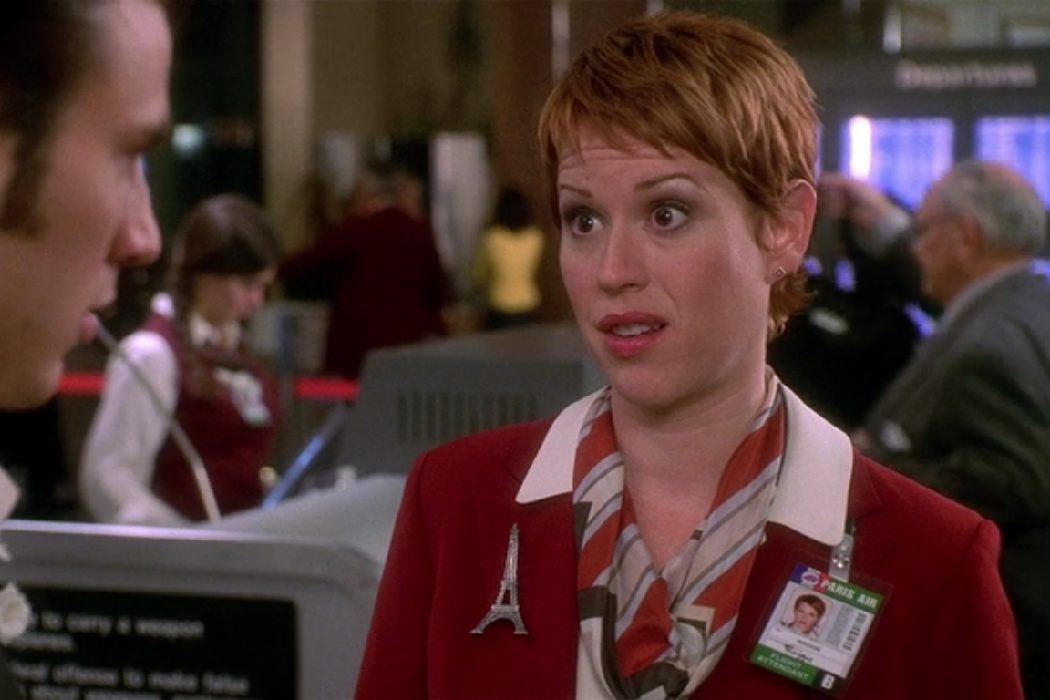 El cameo de Molly Ringwald