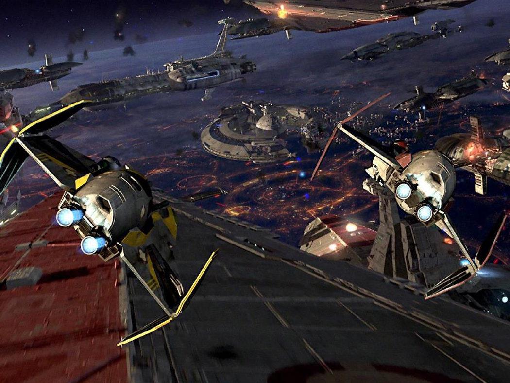 Naves y cazas espaciales