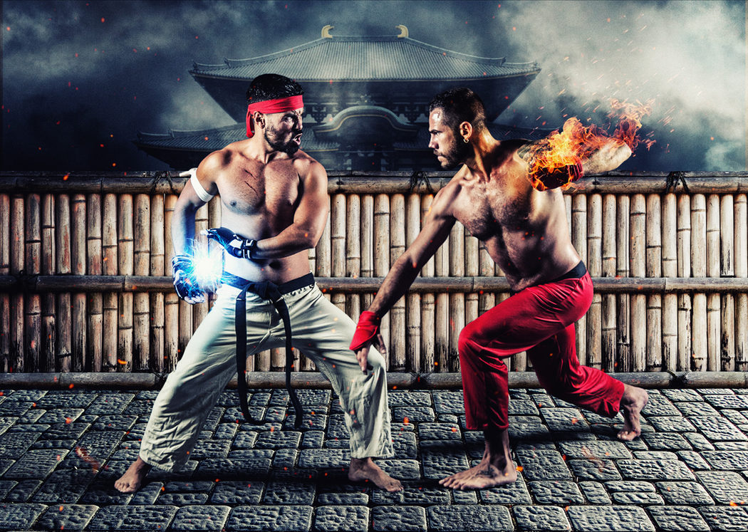 Ken y Ryu de 'Street Fighter'