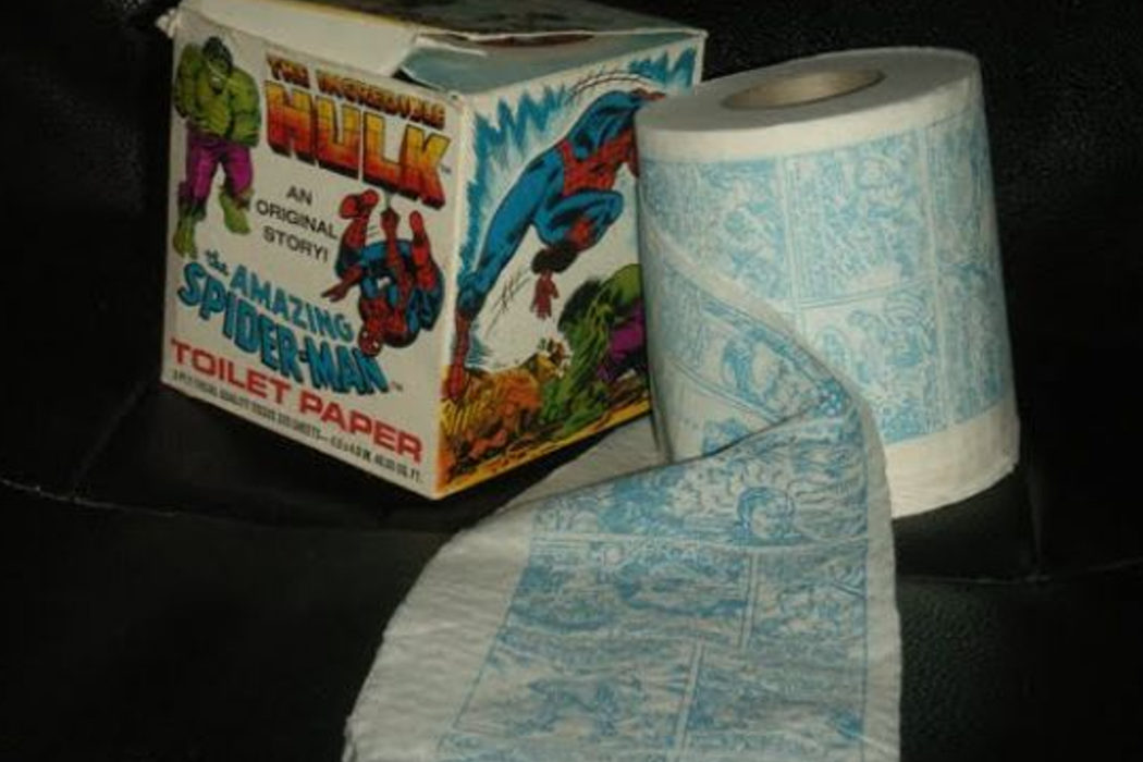 Creó el primer cómic en un rollo de papel higiénico