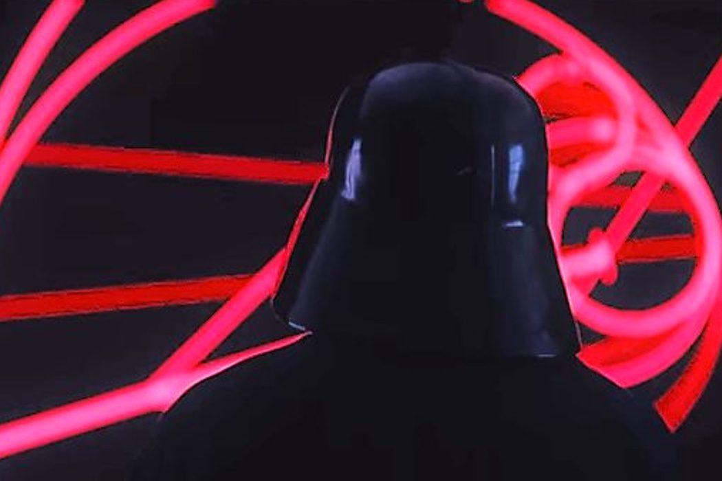 Un plano menos de Darth Vader
