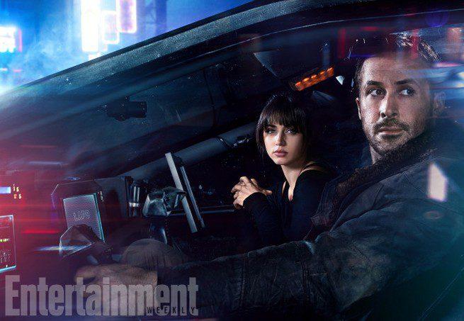 Ryan Gosling con Ana de Armas