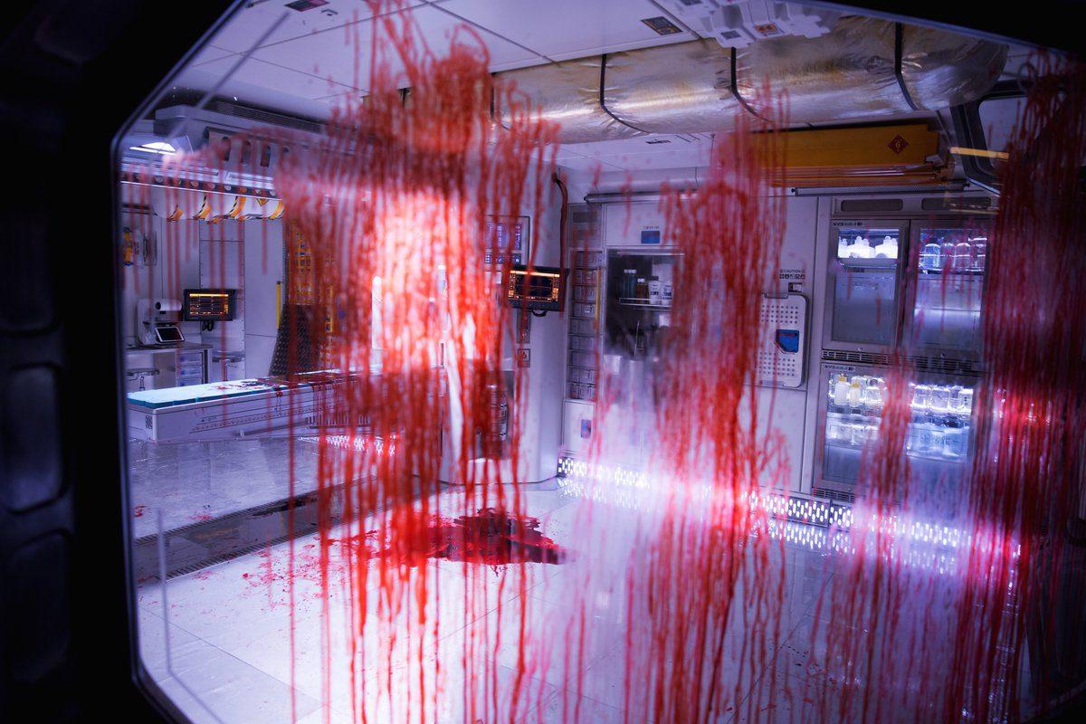 Sangre a raudales en la nave Covenant