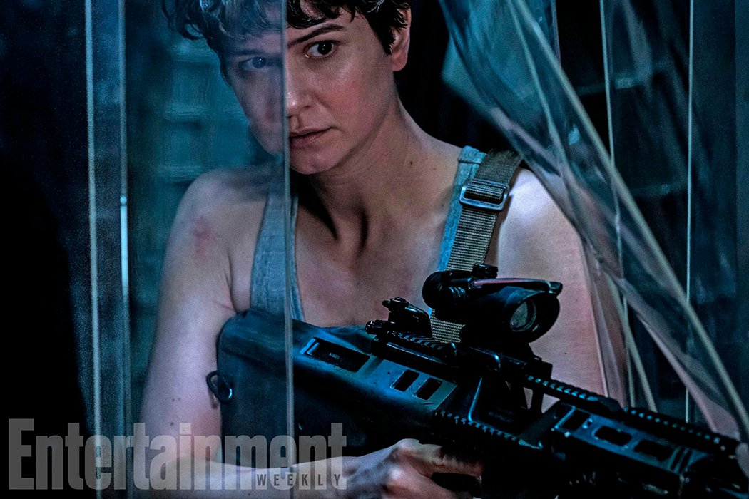 Katherine Waterston será Daniels, tripulante de la nave Covenant