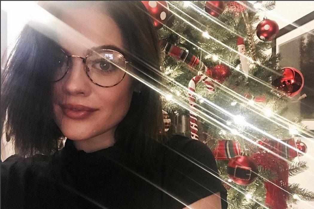 Lucy Hale y los Face Swap navideños