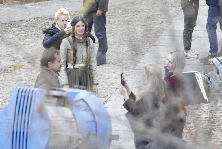 Foto del rodaje de la séptima temporada de 'Juego de Tronos'