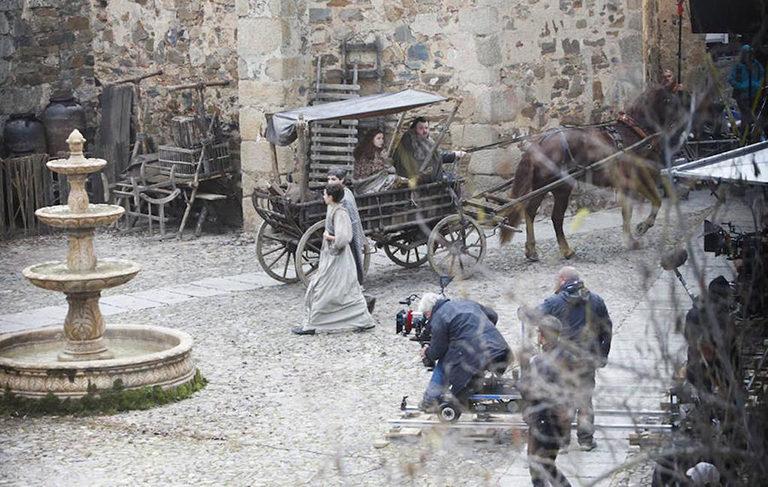 Rodaje de la séptima temporada de 'Juego de Tronos' en Cáceres