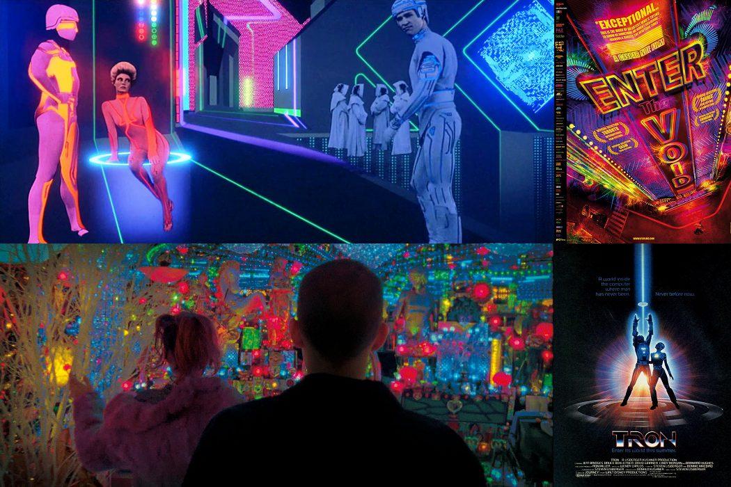 Los neones y 'Tron'