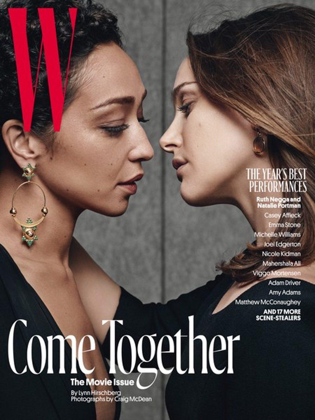 Ruth Negga y Natalie Portman