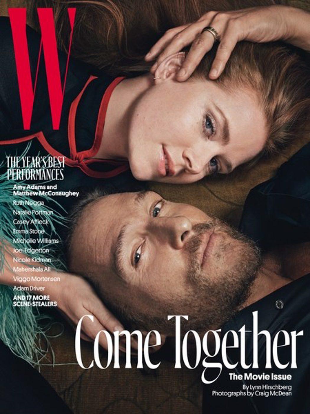 Amy Adams y Matthew McConaughey
