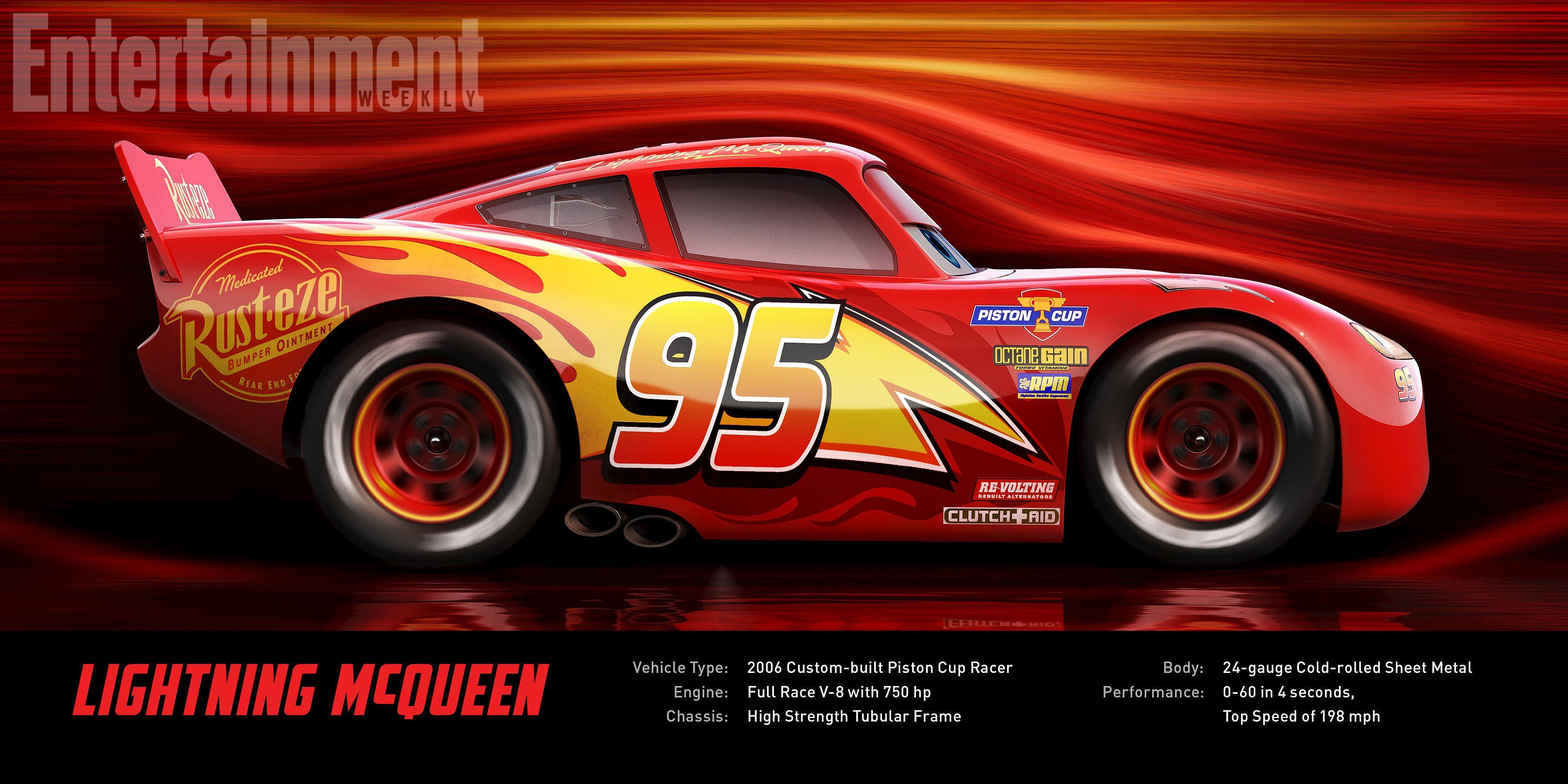 Un Rayo McQueen mejorado