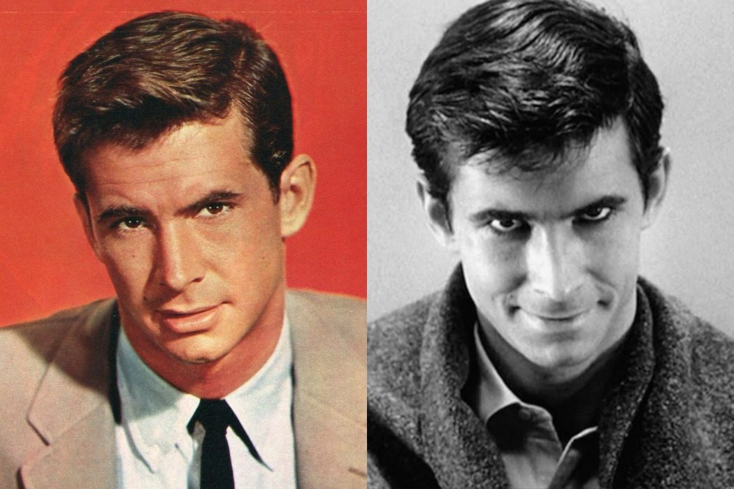 Anthony Perkins en 'Psicosis' (1960)