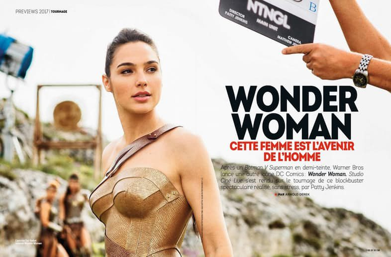 Gal Gadot en su papel de Wonder Woman
