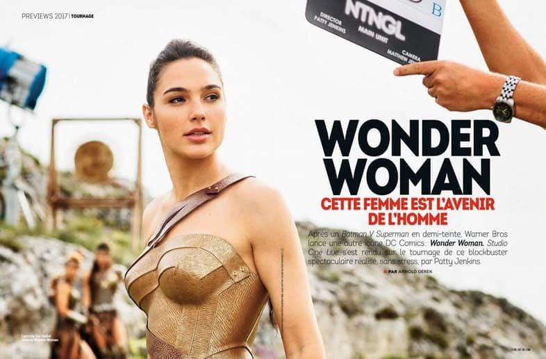 Gal Gadot en su papel de Wonder Woman