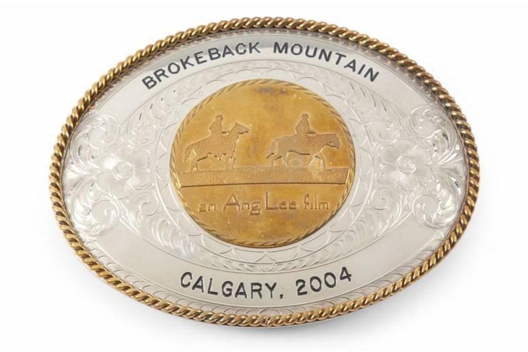 Hebilla de cinturón de 'Brokeback Mountain'