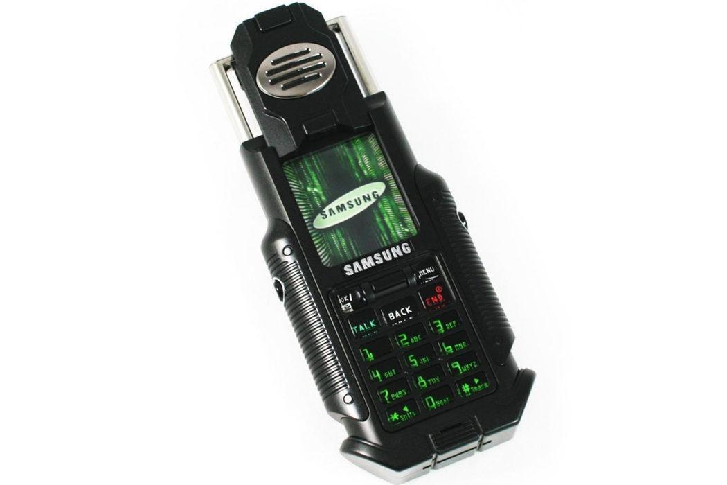 El móvil de 'Matrix Reloaded'