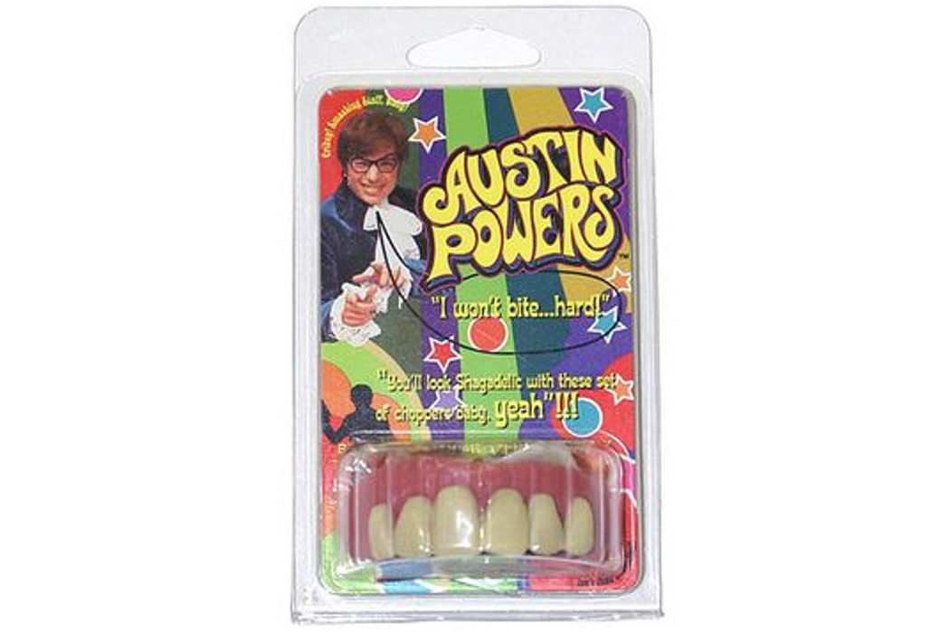 Los dientes de Austin Powers