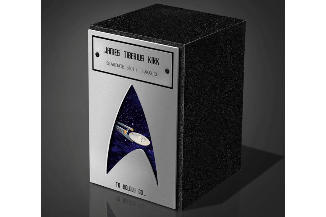 Una urna de 'Star Trek' para tus cenizas