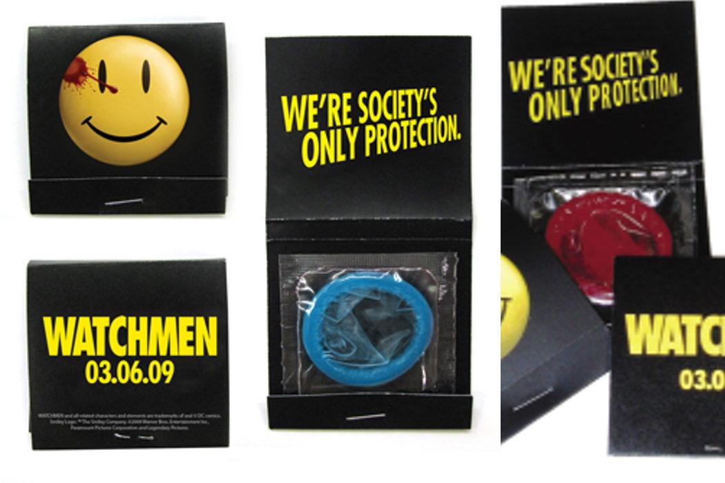 El condón de 'Watchmen'