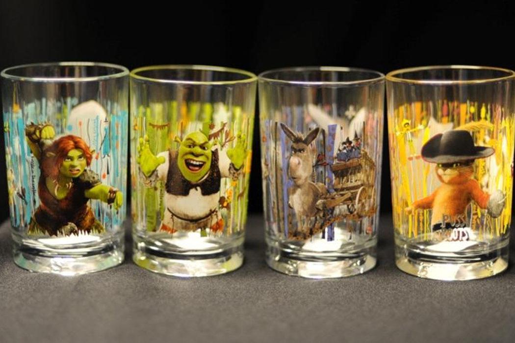 Los vasos cancerígenos de 'Shrek'