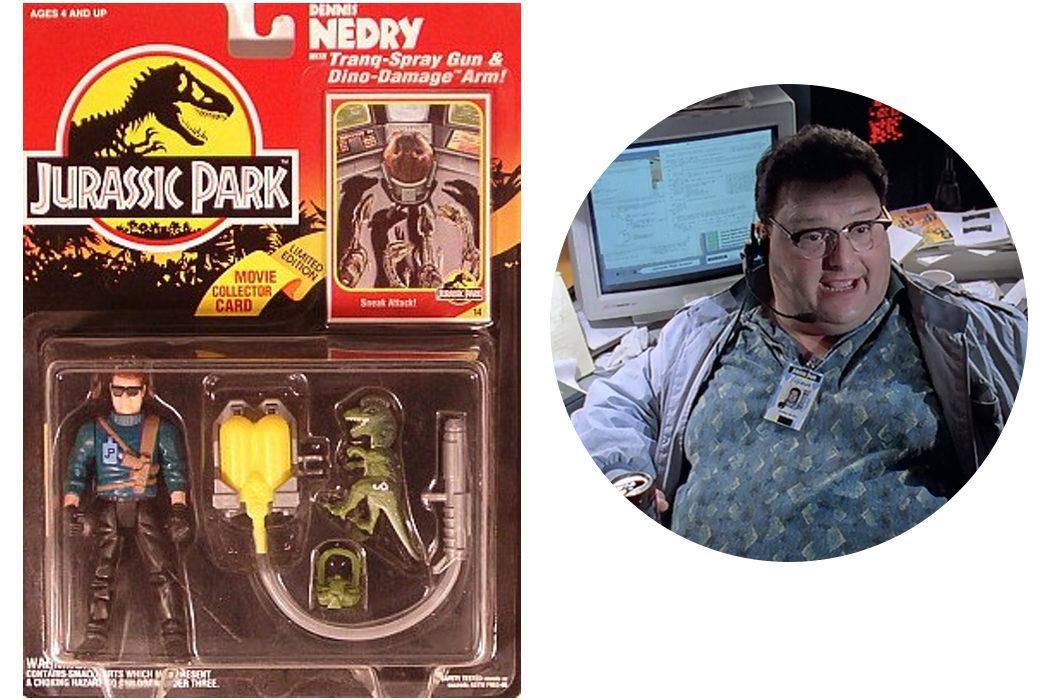 La libérrima figura de acción de 'Jurassic Park'
