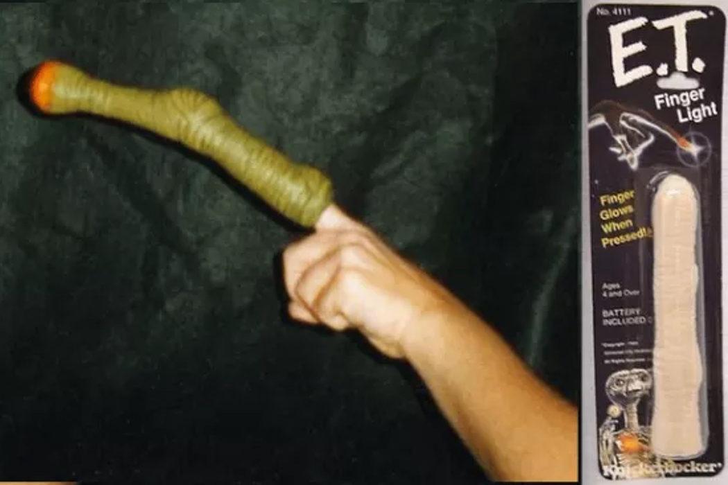 El dedo de E.T.