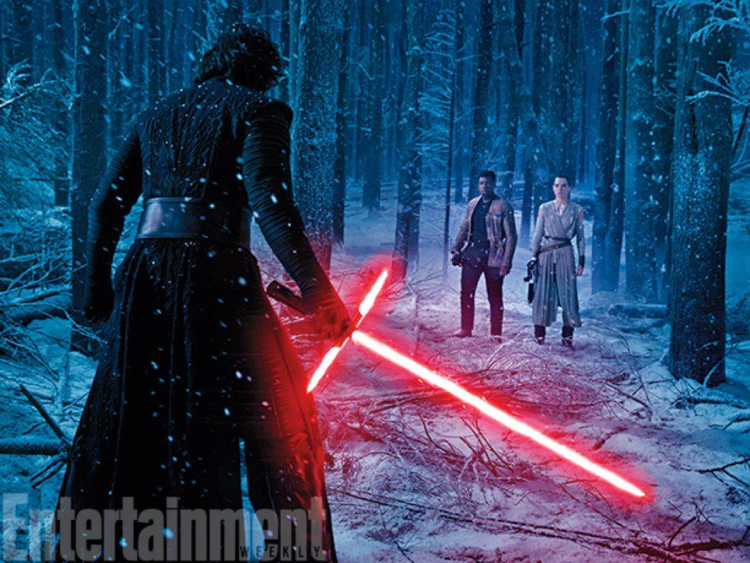 Kylo Ren vs Finn y Rey