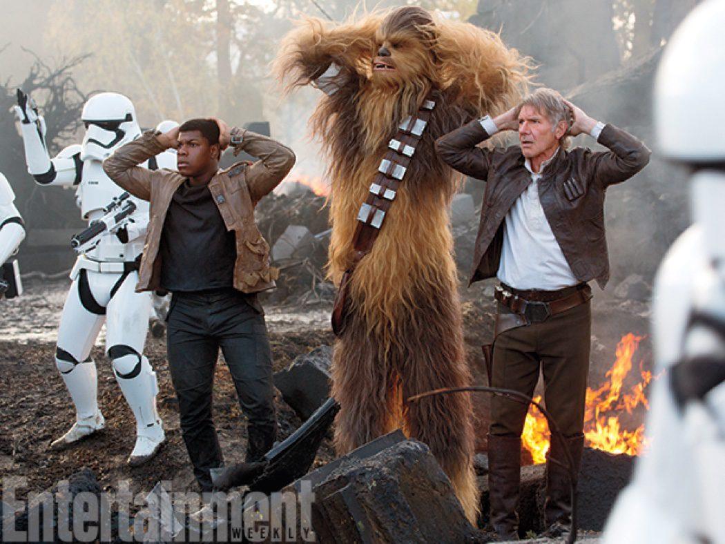 La vieja guardia de 'Star Wars'