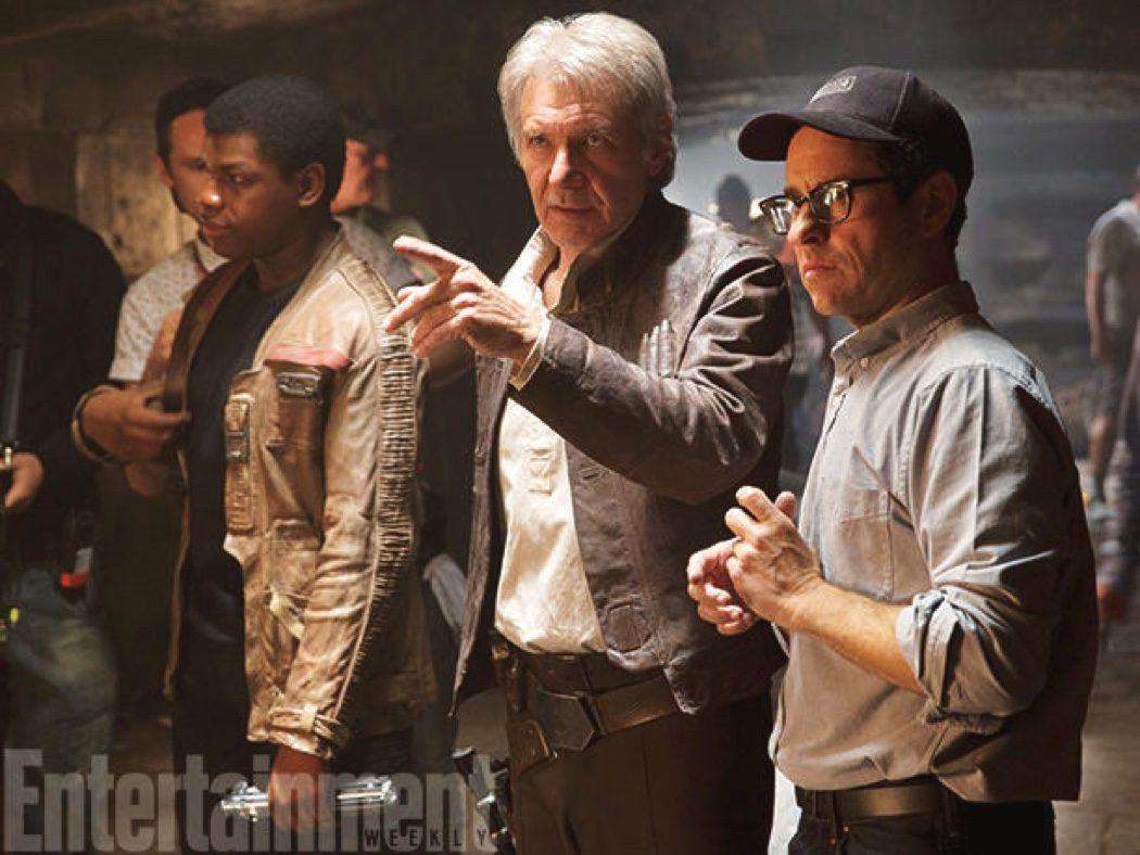 Harrison Ford y J. J. Abrams