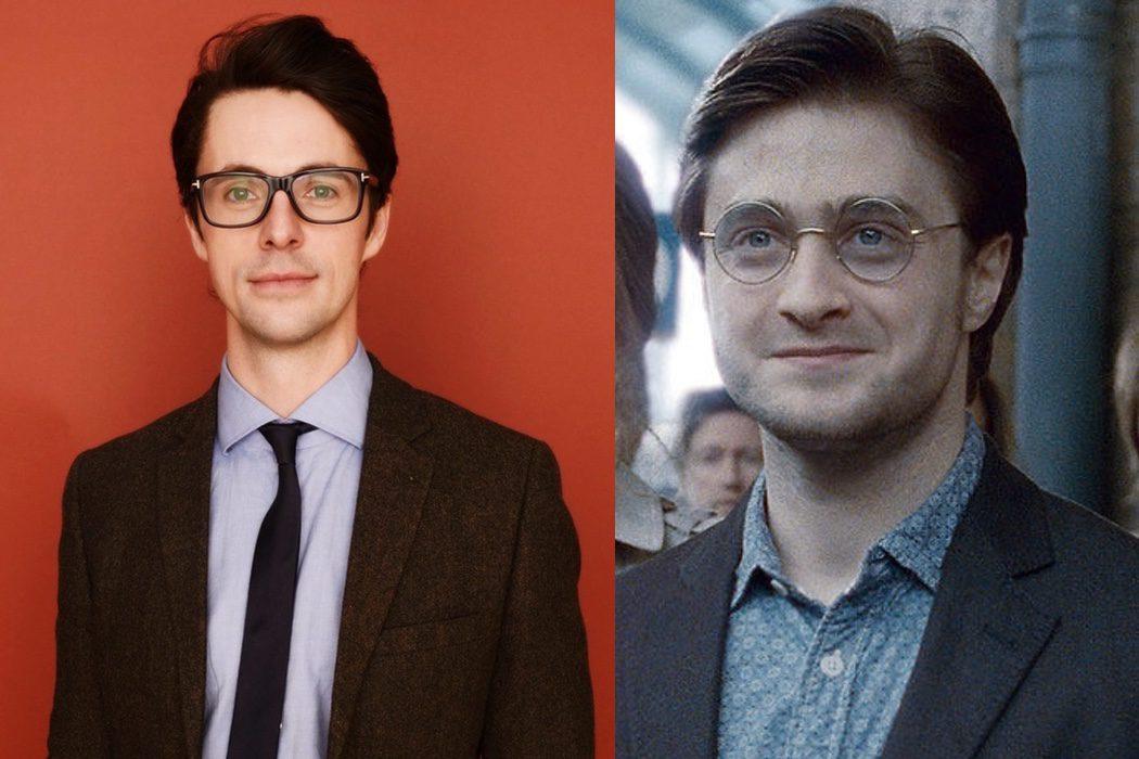 Matthew Goode sería Harry Potter