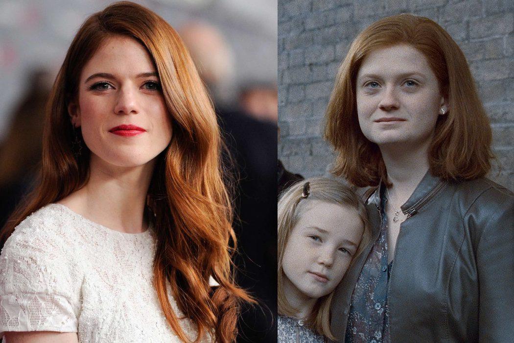 Rose Leslie sería Ginny Weasley