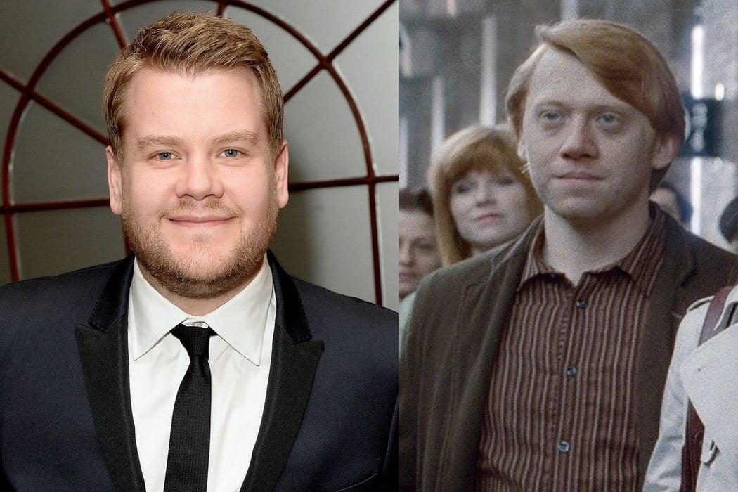 James Corden sería Ron Weasley