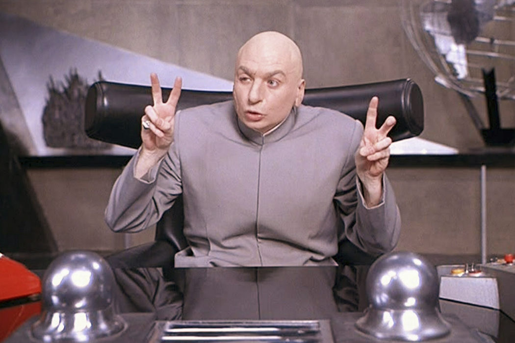 Mike Myers en la trilogía 'Austin Powers'