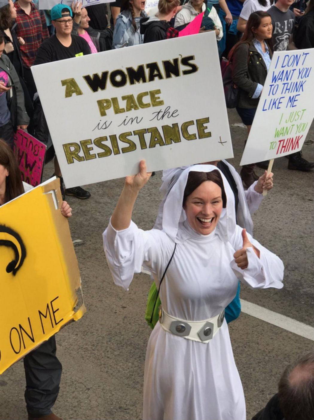 El lugar de la mujer está en la Resistencia
