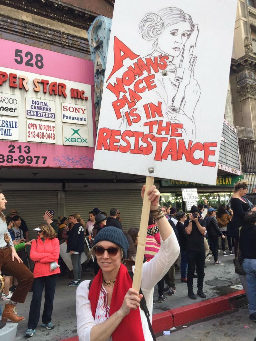 El arte de la protesta