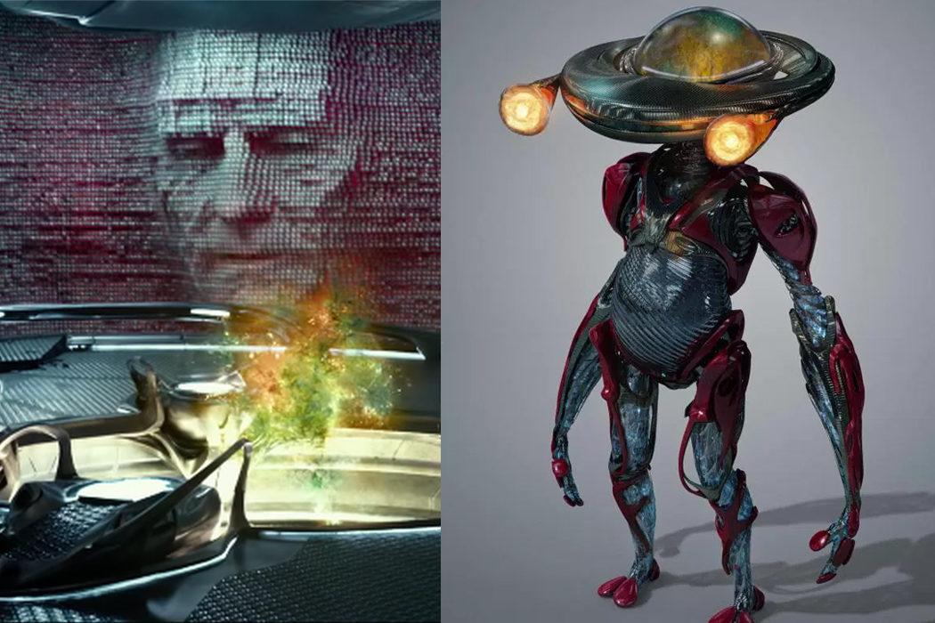 Zordon y Alpha 5, representantes del bien