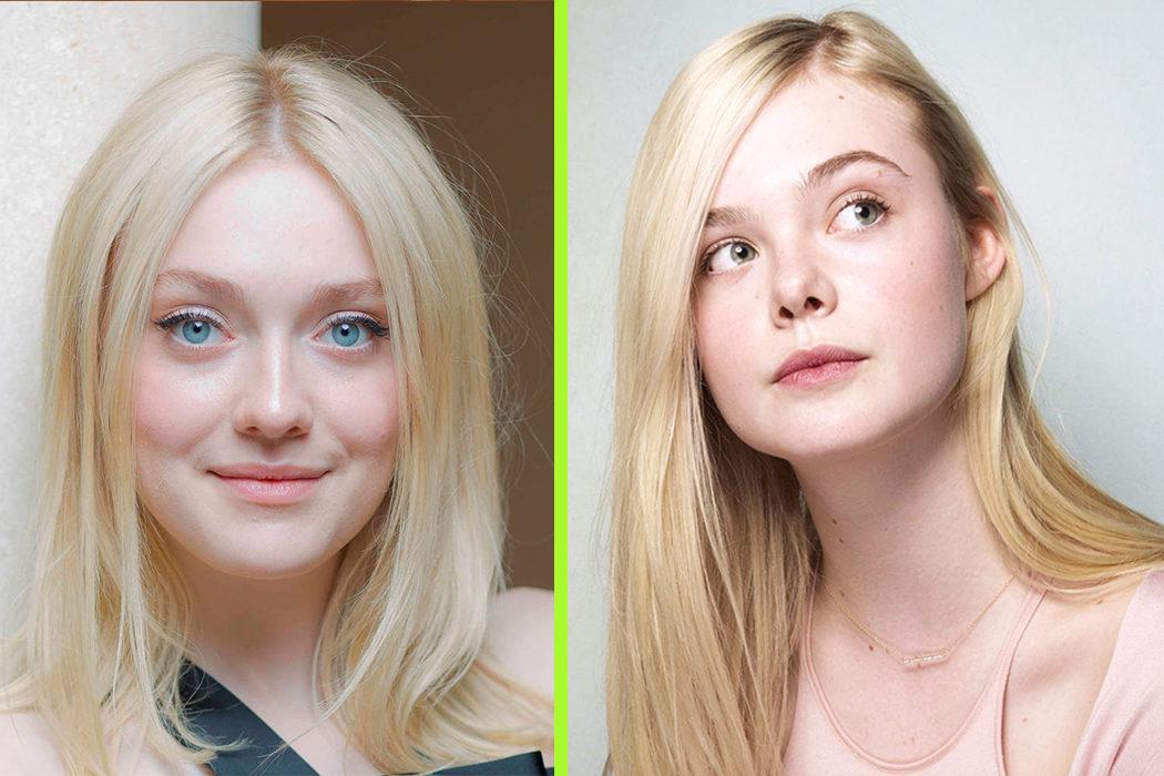 Dakota Fanning (22) & Elle Fanning (18)